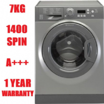 HOTPOINT WMBF742G Graphite 7KG Washing Machine 1400rpm